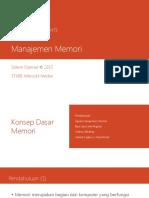 Bab 7 - Manajemen Memori