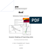 Dynamic Modeling of Fixed-Wing UAVs (12.05.2006)