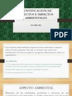 Aspectos e Impactos Ambientales Ppt