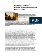 17.Göndör Ferenc Krausz Náthán (Dezséri Bachó László Írása)