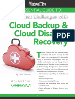 Cloud Backup Disaster Recovery Challenges Wpp