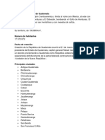 Dirección Geográfica de Guatemala