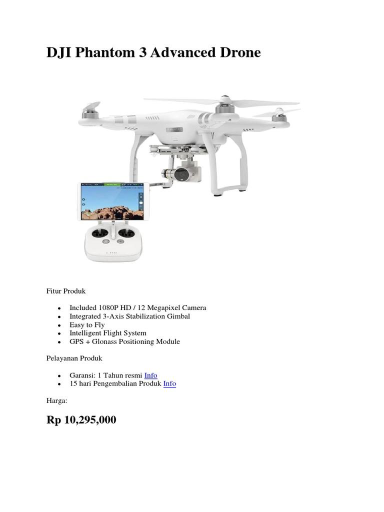 Dji Phantom 3 Advanced Drone Intelligent Flight Battery Batere Original 1540757121v1