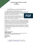 Comunicado de Prensa ONIC