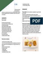 Ceviche Mixto Con Arroz Con Mariscos