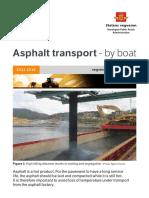Folder - Asphalt Transport - By Boat