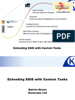 Extending SSIS With Custom Tasks - Darren Green