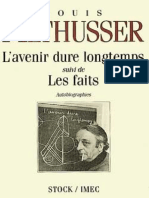 Avenir Dure Longtemps L Althusser Louis