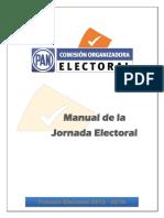 Manual Jornada Electoral 2015 2016