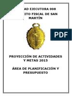 Caratula Distrito Judicial de San Martín
