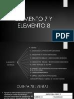 Elemento 7 y Elemento 8