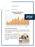Crecimiento Economico en Bolivia