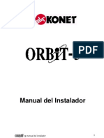 Manual Orbit 5 Instalacion