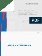 Presentacion Nueva Reforma Tributaria 2016