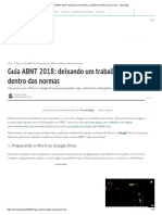 Guia ABNT 2018_ Deixando Um Trabalho Acadêmico Dentro Das Normas - Tecnoblog