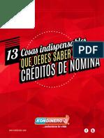 13 Cosas Indispensables Que Debes Saber Sobre Creditos de Nomina 02 - KONDINERO
