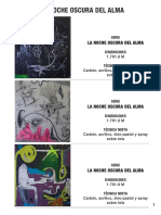 """Serie """"La Noche Oscura del Alma"""", de Cristian Pineda"""