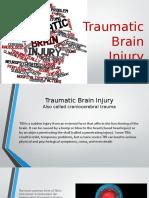 traumatic brain injury presentation
