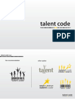 Talent Code logo designing