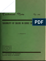 Prausnitz - Solubility of Solids in Dense Gases