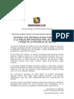 Defensa Civil Entrega Ayuda Humanitaria a Población Afectada Por Las Heladas y Bajas Temperatura en Yauyos (1)