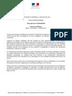 CE 2016 - Finances Publiques