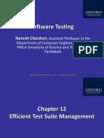 328 33 Powerpoint Slides 12 Efficient Test Suite Management Chapter 12