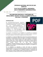 Monografia -Mioglobina en Carnes Rojas