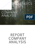 AdidasNike Company Analysis