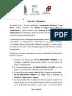 """Comunicado sobre la """"Interconexión Monterrey - San Pedro"""""""