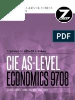 Cie as Economics 9708 Znotes