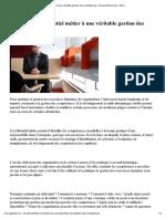 Baudet_Passer d'Un Référentiel Métier à Une Véritable Gestion Des CompétencesWorkshops - PaperJam
