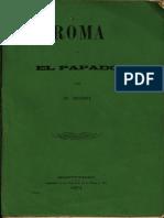 Roma y El Papado b Bossi 1871