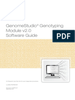 Genomestudio Genotyping Module