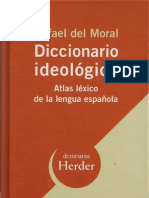 CLAVES PARA EL DICCIONARIO IDEOLÓGICO - ATLAS LÉXICO