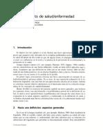 Capítulo No. 01, El Concepto de Salud y Enfermedad