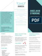 medically fragile condition angelman syndrome brochure