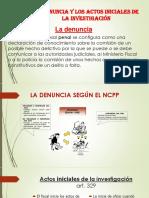 EXPO La denuncia y los actos iniciales.pptx