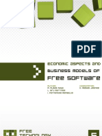 Economic Aspects and Business Models of Free Software