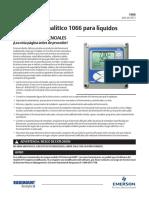Transmisor Analítico 1066 Para Líquidos