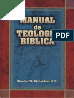 Manual de Teologia Biblica - Stanton W. Richardson