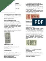 Clasificacion de Timbres Notariales