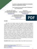 Análisis FODA Sobre El Uso de La Inteligencia Competitiva en Pequeñas Empresas de La Industria Del Vestido