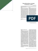 Temporalidad semiótica y continuidad en la obra de C. S. Peirce