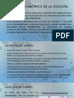 DISEÑO GEOMÉTRICO DE LA CICLOVÍA.pptx