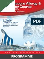 2nd SARC FESS Workshop Programme