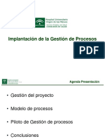 Implantación de la Gestión de Procesos