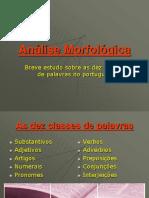 Análise Morfológica