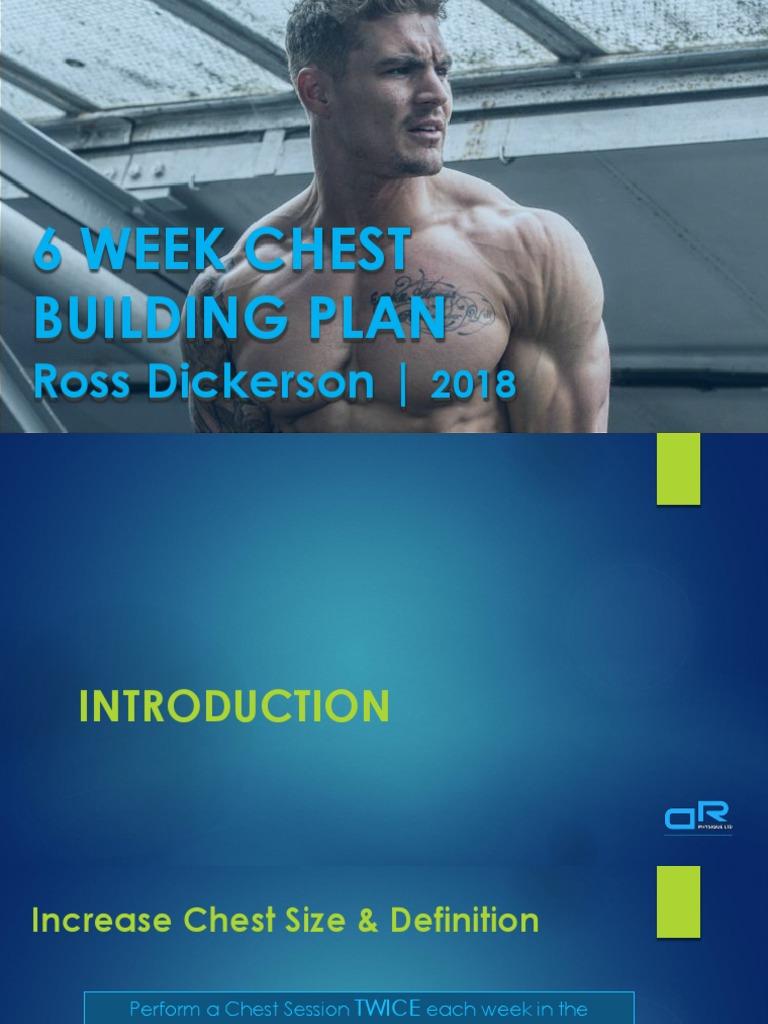 DRPHYSIQUE CHEST BUILDING PLAN 2018 pdf | Aerobic Exercise