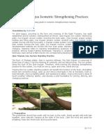Yin Style Bagua Isometric Strengthening Practices